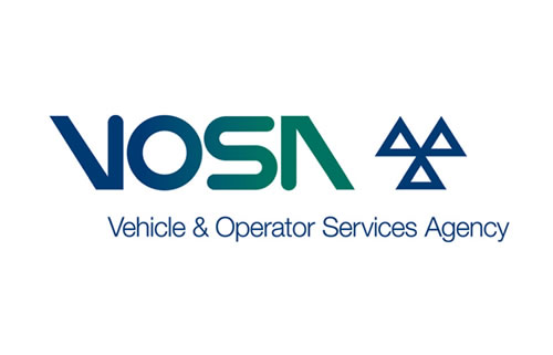 vosa, vehicle and operator services Agency logo