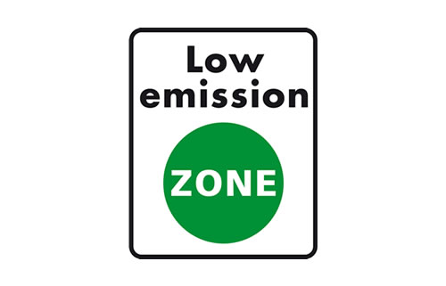 low emission zone logo